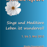 singe und Meditiere - Leben ist wundervoll