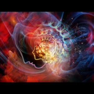 Grafik zu geistigem Raum