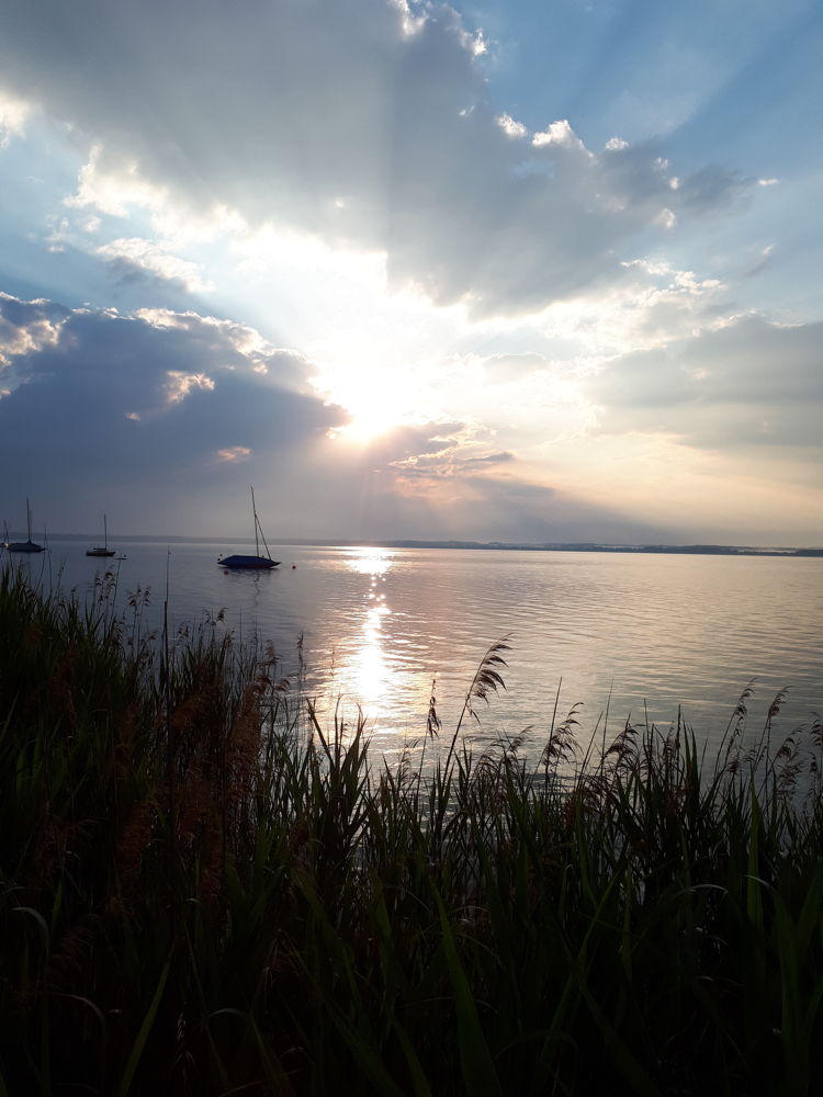 Früher Morgen auf der Fraueninsel